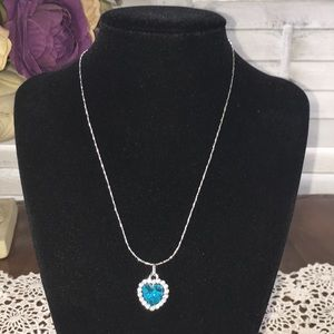 NWT Necklace with heart shaped pendant.
